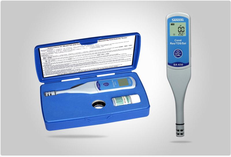 SX650 conductivity tester