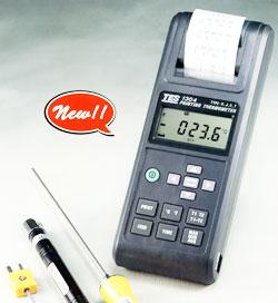 TES-1304自带打印机温度计