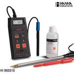 哈纳HI993310便携式电导率测定仪【土壤专用】