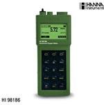 哈纳HI98186便携高性能溶解氧/BOD/温度测定仪