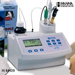 哈纳HI84429微电脑酸度/pH值滴定分析仪