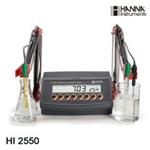 哈纳HI2550(HI255)高精度实验室酸度测定仪【pH/ORP/EC/TDS/温度】