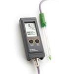 哈纳HI99121N便携式pH/温度测定仪【土壤种植】
