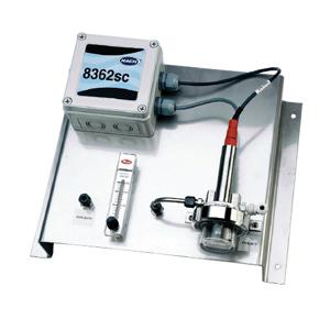 【哈希】8362sc 高纯水用 pH 分析仪