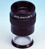 PEAK必佳1975-7X手持式带刻度放大镜